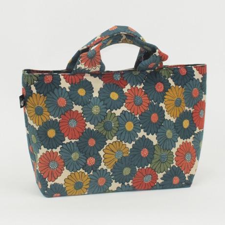 レトロな花柄帯バッグ