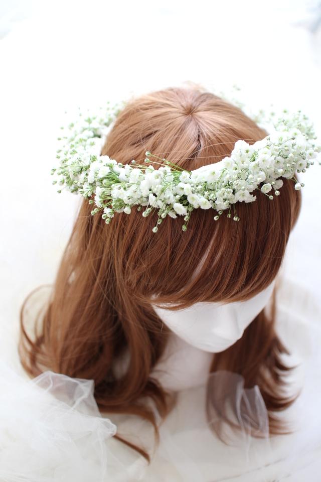 marieee0929さまオーダー商品 Baby's breath flower crown