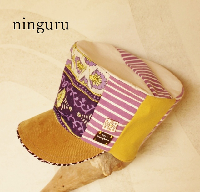 パステル紫×黄色の やさしかわいい 背高KEPI