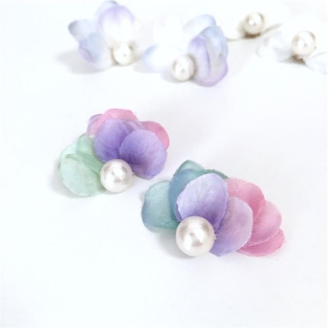 little mermaid pierce/earring?petit cadeau?little mermaid