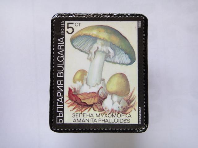 ブルガリア 切手ブローチ1383