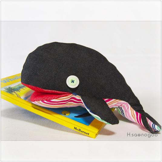 リュックジラ ブラックデニム C