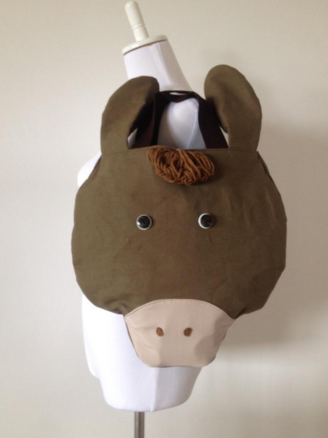 特大お馬さんのバッグ(茶色)