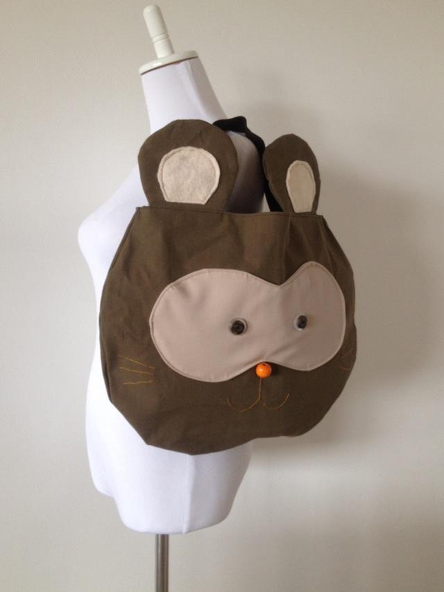特大タヌキさんのバッグ