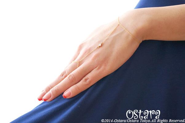 ��16KGP��Ring Bracelet, 16KGP Cubic Zirconia