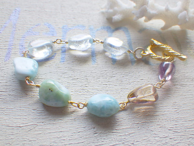 ☆再販☆ Mermaid's Seaside healing Bracelet