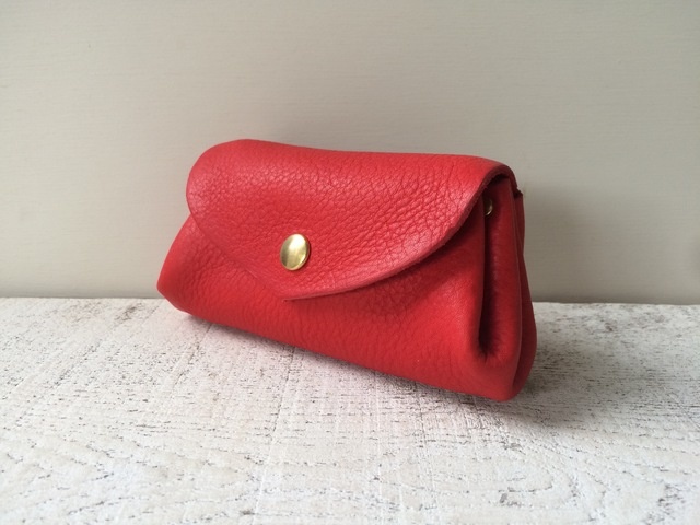 【即納品可能】コロコロ財布 「fave」トマトレッド