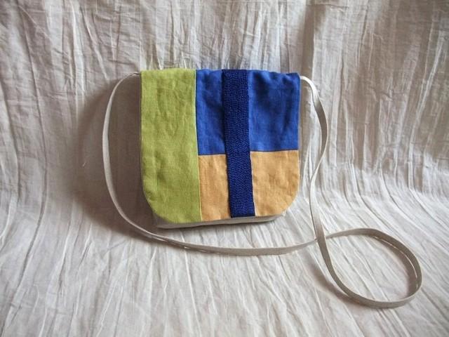 itoiro pochette (blue&yellow)