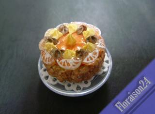 『ケーキマグネット・オレンジ』2