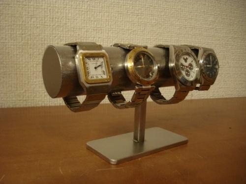 時計収納 4本掛け男性用透明シート腕時計スタンド