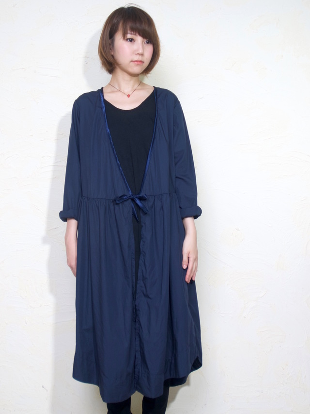 OTONANO CASHE-COEUR DRESS/ NAVY