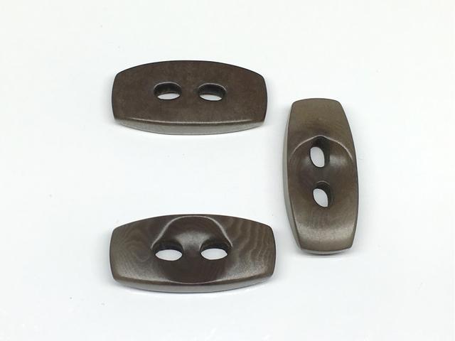 ボタン:長方形(L)/ダークグレー/3コ入<97>
