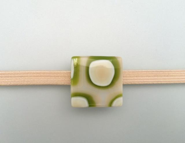 パターン メロングリーン正方形