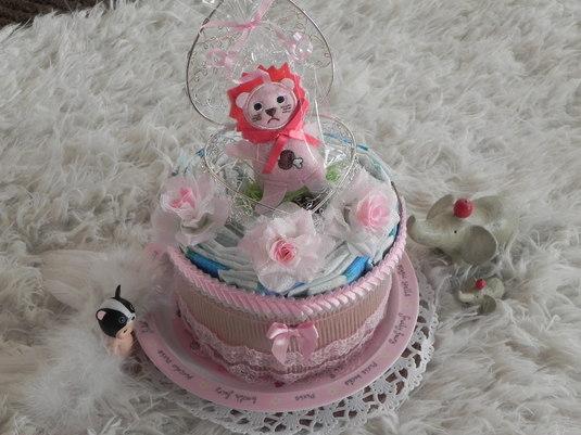 手作りおむつケーキ