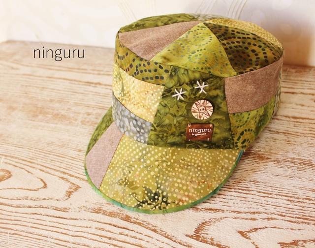 greenの森のKEPI秋バージョン(nonneko様オーダー品)