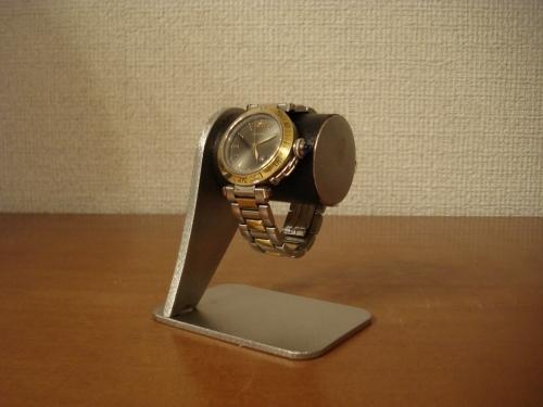 腕時計スタンド ブラックコルクインテリアデスクスタンド