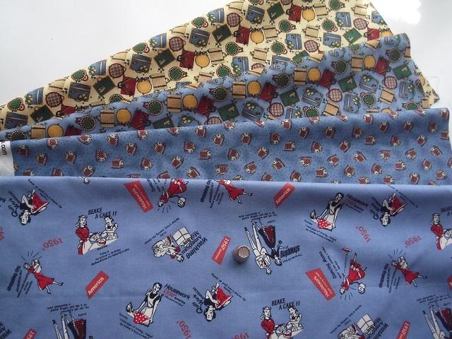 可愛い柄布4枚セット