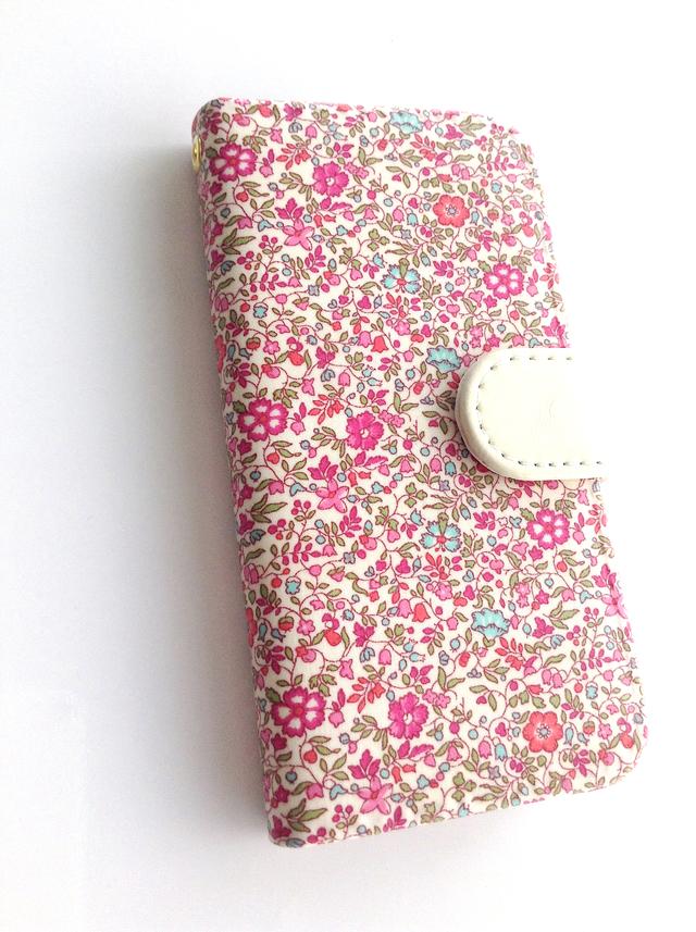 リバティiphone6 6S手帳型ケース ケイティ&ミリィ