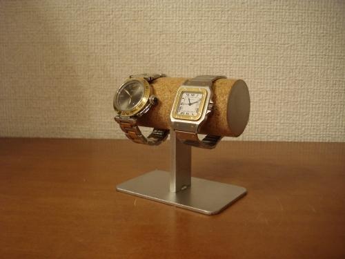 時計収納 2本掛け腕時計スタンド