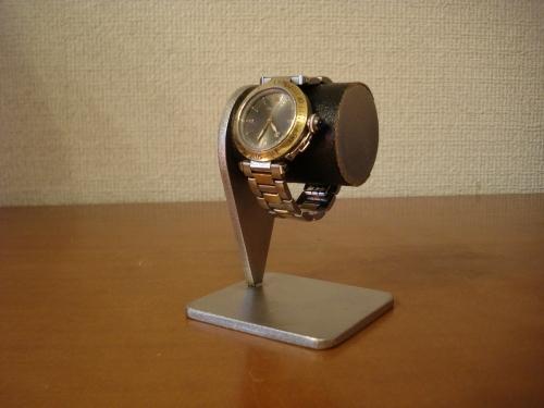 時計収納 ブラック1本掛け腕時計スタンド