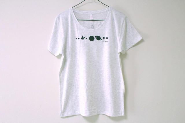 コスモサイトウサンTシャツ オートミール(girls-L)