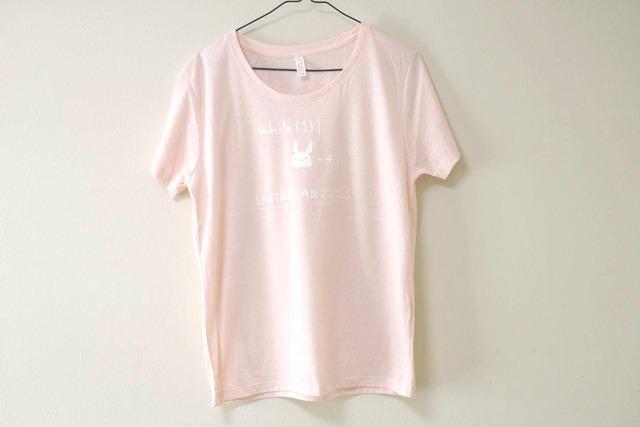 サイトウサン++Tシャツ 女性用L ベビーピンク