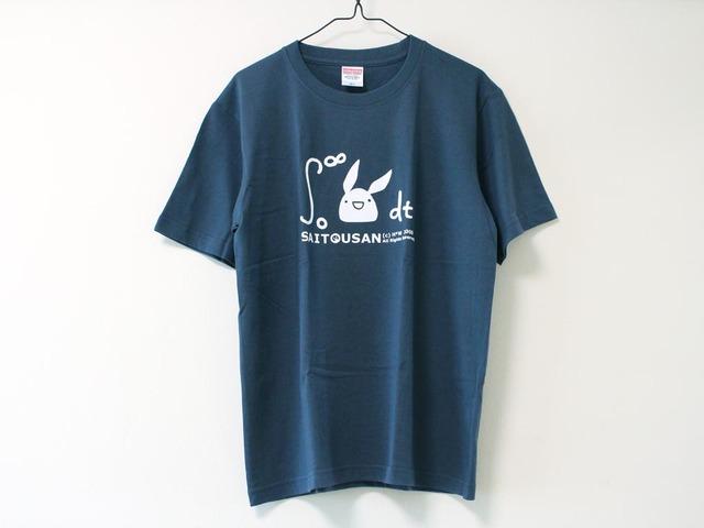 積分サイトウサンTシャツ スレート(男性用M)