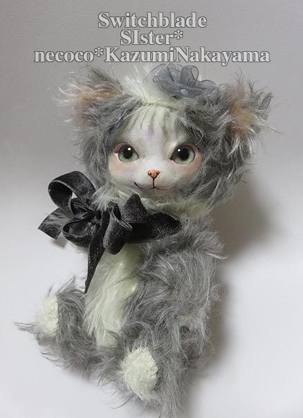 フェイスタイプドール*猫(ブチ・ペイルブルーアイ)