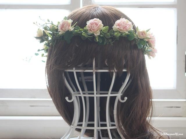 花冠*フリルローズ*スウィートピンク