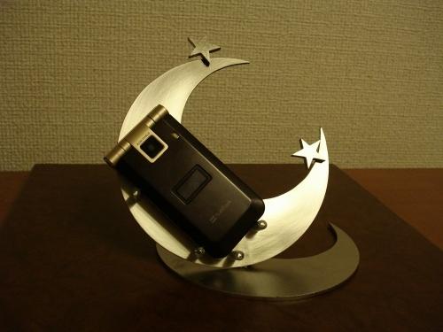 携帯スタンド ダブルムーン携帯電話スタンド