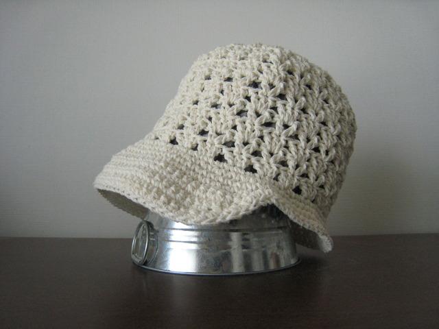 天使の帽子〜キャスケット〜ホワイト