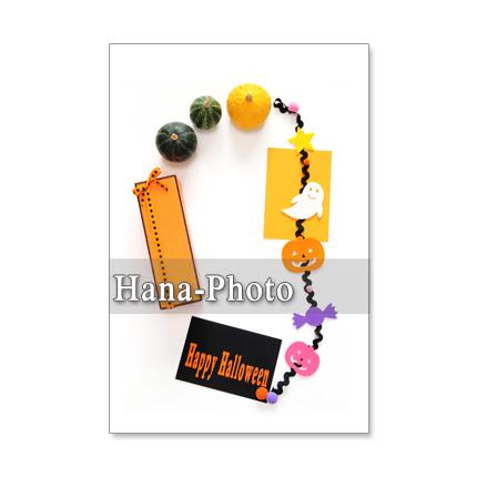 1182) ハロウィン 4       ポストカード5枚組