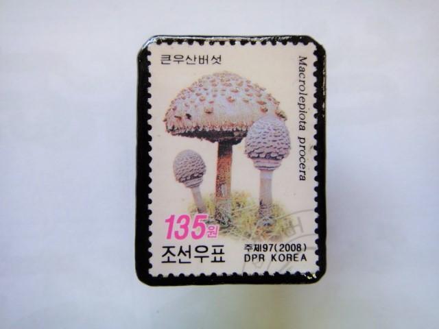 韓国 切手ブローチ1396