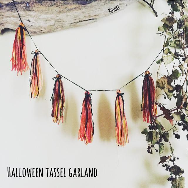 ?Halloween tassel garland?�ϥ?����...
