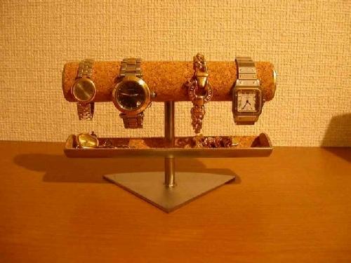 アクセサリー小物入れ付き腕時計ケース