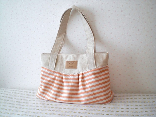 Hug Bag マリン*オレンジ