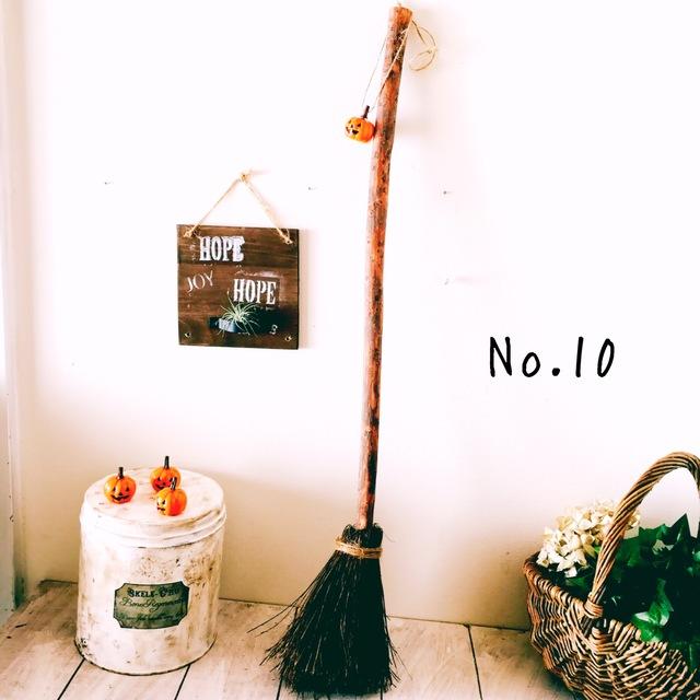 魔法のほうき No.10 ミニかぼちゃ付き