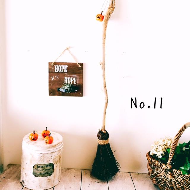 魔法のほうき No.11 ミニかぼちゃ付き