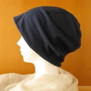ゆるいリバーシブル帽子 紺/カーキ(CSR-002-K)