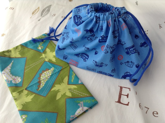 お弁当袋と巾着袋のセット No.3
