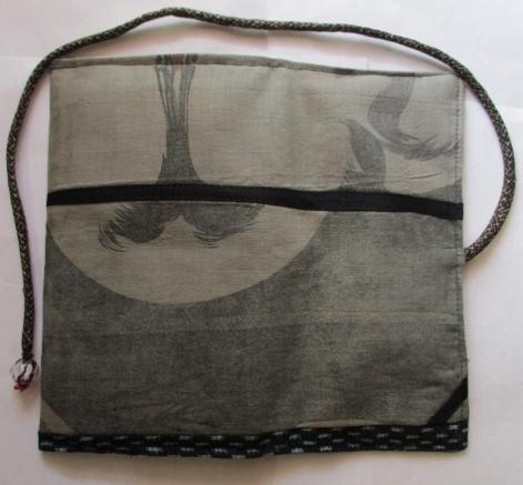 着物リメイク 綿の羽織の裏地で作った和風お財布 1750