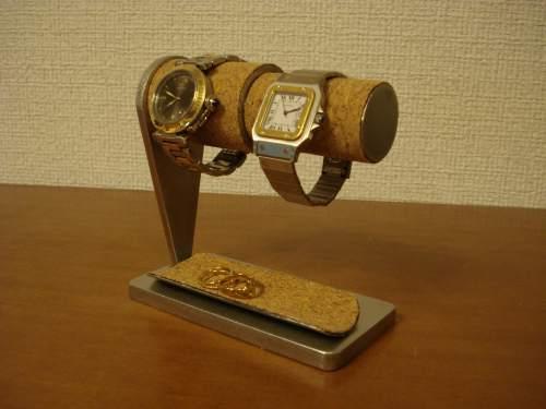 男女ペア腕時計スタンド ハーフパイプトレイ  AKデザイン