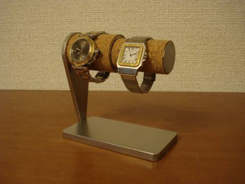 腕時計スタンド 太いパイプ、細いパイプ連結カップル腕時計スタンド スタンダード
