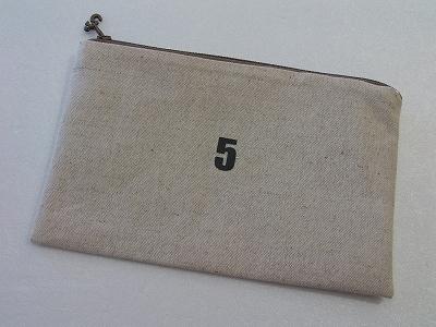 5番のポーチ(№5)Bj *送料無料*