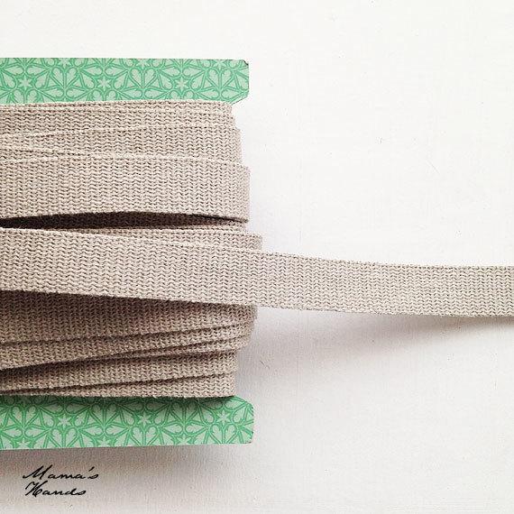 ★SALE★ 2.5m 2.5cm巾 リネン 持ち手用テープ
