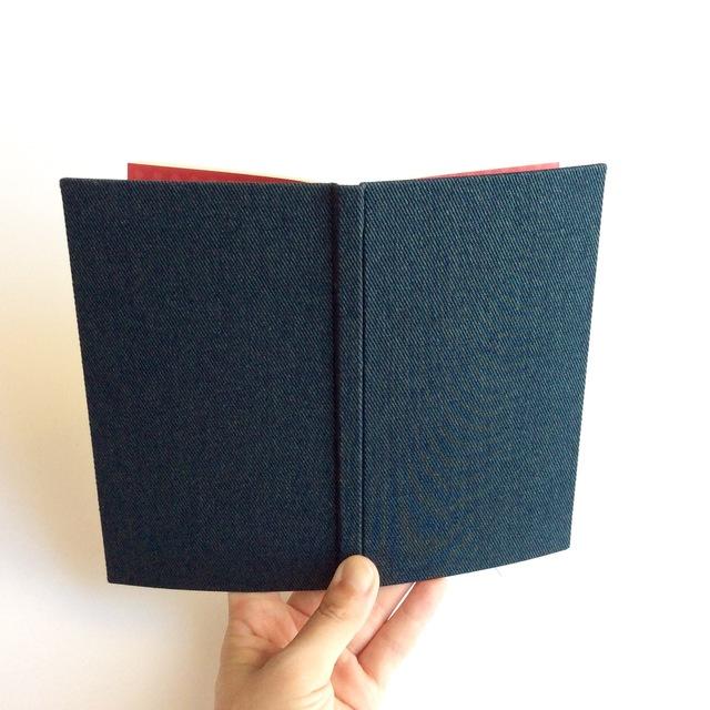 4月始まり「デニムと綿麻」スケジュール手帳