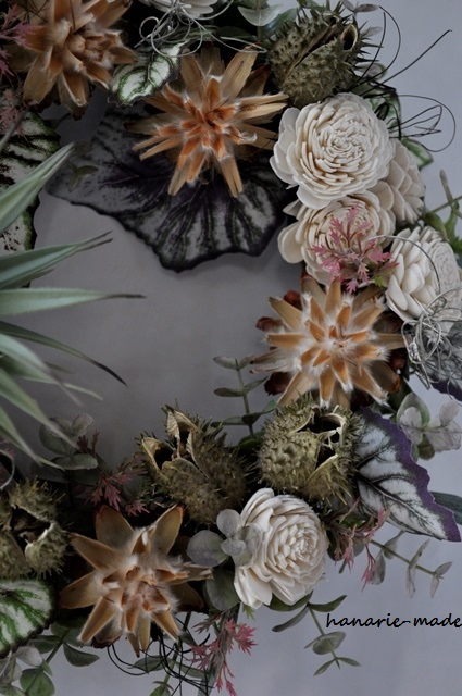Dracaena wreath:graysh green no.2
