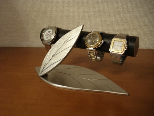 誕生日プレゼントに!ダブルリーフ腕時計スタンド