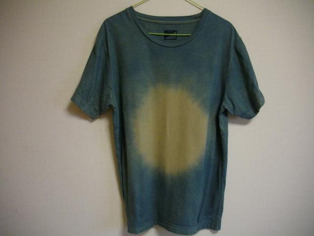 草木染オーガニックTシャツ「bokasibori」