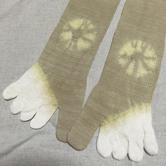 五本指靴下*石榴*